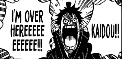 Emperor of the Sea Kaido VS An Idiot [One Piece 923